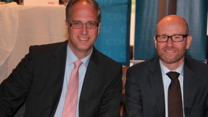 Tobias Koch und Dr. Peter Tauber