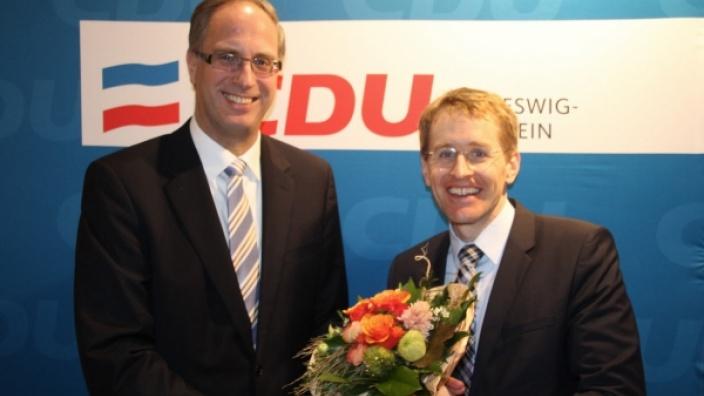 Tobias Koch und Daniel Günther